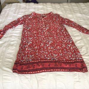 Loft Paisley Dress